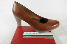Marco Tozzi Court shoes Slippers Casual shoes brown soft inner sole leather new