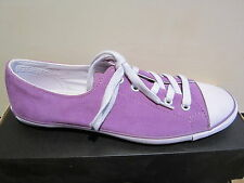 Converse Ladies Lace-up Shoes, viola, Leather, NEW