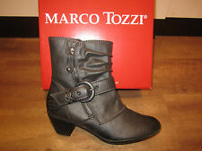 Marco Tozzi Boots, Ankle boots, grey, light Fed. RV NEW