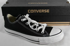 Converse All Star Lace up Sneakers trainers black, Textile/ Canvas, M9166C New