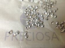 Preciosa Czech Super Chaton silver foiled 1.8mm -4mm REPAIR Pack 60 Post Free UK