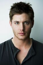 "Jensen Ackles Actor Star Fabric poster 20"" x 13"" Decor 01"