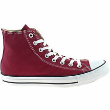 MENS LADIES CONVERSE ALL STAR MAROON HI TOP CHUCK TAYLOR CANVAS BOOTS M9613C
