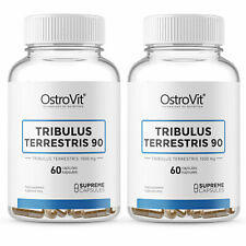 TRIBULUS TERRESTRIS 90% Testosterone Booster Anabolic Build Lean Muscle Mass