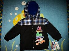 Marvel Heroes Jacket Boys Hooded Filled Winter Sz 2 3 4Toddler NWT