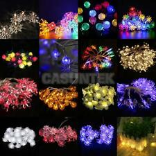 10/20/30/40 LEDs Battery Operated String Lamp Fairy Lights Xmas Wedding Decor