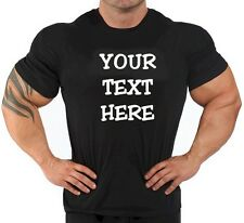 BUY your Custom Personalized T Shirts -print your TEXT, Short Sleeve