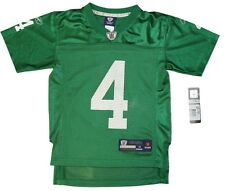 Youth sized NFL Philadelphia Eagles #4 Kevin Kolb Throwback Football Jersey