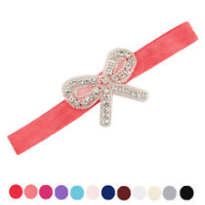 Baby Headbands Rhinestone Bowknot  Hair Accessories For Girls Infant Hair Band