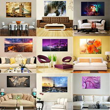 HD Canvas Picture Prints Abstract Paintings Huge Wall Art Decor Room Unframed
