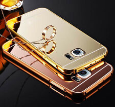 Hot Luxury Aluminum Ultra-thin Mirror Metal Case Cover for Samsung Galaxy Model