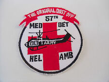 United States Army 57th Medical Detachment Helicopter Ambulance Dust Off Patch