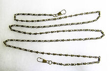 Catches Latches Metal Chain Strap for PurseClutchWallet Antique Brass 120cm long