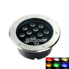 12W In Ground LED Bulb SpotLight Outdoor Garden Flood Light Lamp Waterproof IP67