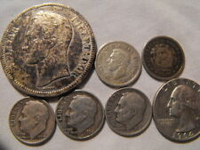 Vintage Silver Coins Lot of 7