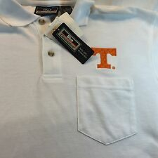Mens Tennessee Volunteers Vols Game Day Polo White NWT By Blue Generation Shirt