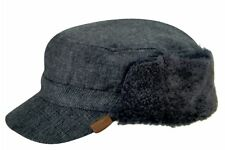 Kangol Men's Shearling Trapper Cap Winter Army Hat