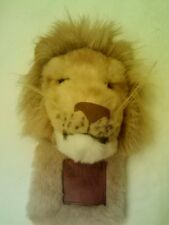 "LEO THE LION HAND PUPPET  11""  By CUDDLE TOYS  NICE!     FAST SHIPPING"