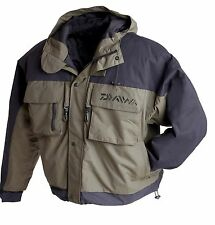 Daiwa Wilderness Wading Jacket Fly Fishing Clothing #DWWJ NEW 2017 STOCK