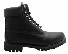 Timberland AF 6 Inch Prem Mens Boots Black Leather Lace Up Casual 6556A WH