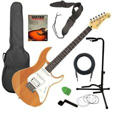 Yamaha Pacifica PAC112J Electric Guitar - Natural GUITAR ESSENTIALS BUNDLE