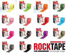 ROCK TAPE Rocktape Strapping Sports Tape - 5cm x 5m CHOOSE COLOUR - Kinesiology