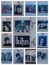 The Beatles,  Photo Keyring / bag tag, clear plastic,