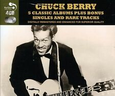 Five Classic Albums Plus by Chuck Berry (CD, Nov-2011, 4 Discs, Real Gone)
