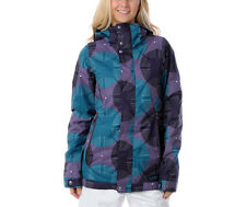 Burton TWC Baby Cakes Jacket Women Snowboard Waterproof Insulated Print 7 M