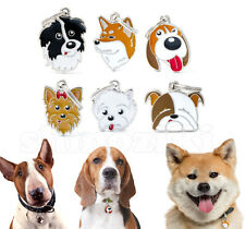 Custom personalized Breeds Dog Tags Cat Tags Free Engrave Name id pet tags