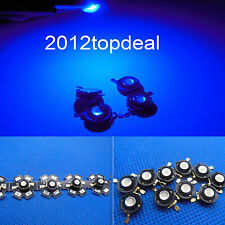New 1 5 10 50 100pcs 3W Blue High Power Led Light Bead Chip 3 Watt 460-465nm