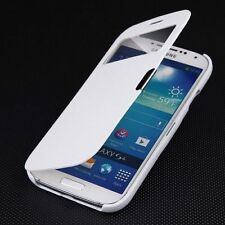 Magnetic Flip PU Leather Hard Cover Smart Case Pouch For Samsung Galaxy S4 I9500
