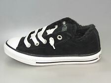 Converse AllStar Kids CT STREET OX BLACK/EGRET 632513C Leather + new + all sizes