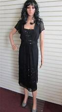 New Simply Be Changes By Together Beaded Dress Size 14 UK Black