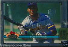 2015 TOPPS ARCHIVES SIGNATURE GARY SHEFFIELD AUTO #1/7 1991 STADIUM CLUB #95