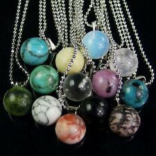 wholesale natural gemstone 12mm round loose beads pendant stone necklace