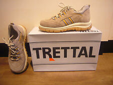 Trettal Boys boys Lace up Sneaker trainers beige Suede leather, Rubber sole NEW
