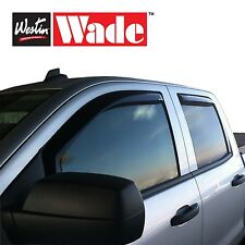 Ford Westin Window Wind Deflectors 4 Piece In-Channel Wade Vent Visors
