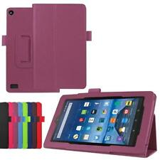 Leather Case Stand Cover For Amazon Kindle Fire HD 7 2015 Tablet Keyboard Folios