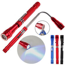 Telescopic Flexible 3 LED Torch Flashlight Magnetic Pick Up Bending Lamp Light