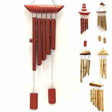 Wind Chime Bamboo Wood Garden Ornament Windchime Feng Shui