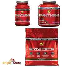BSN SYNTHA-6 2.91 5.04 & 10.05 lbs Protein Powder True Mass Isolate Many Flavors