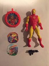 1984 Mattel IRON MAN & DR DOOM Marvel Super Heroes SECRET WARS Action Figure