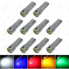 10X T5 74 1 COB LED Indicator Light Side Door Light License Plate Bulb Car ZB009