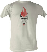 T-Shirts Sizes S-2XL New Mens WFL Chicago Fire T-Shirt in Vintage White