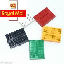 2 pcs SYB-170 Solderless Prototype Mini Breadboard for Arduino (5 colors)