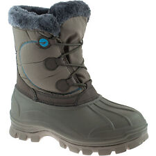 LADIES HI-TEC CORNICE TAUPE WATER RESISTANT INSULATED WARM WINTER SNOW BOOTS