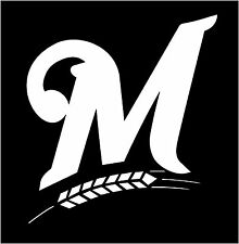 MILWAUKEE BREWERS Vinyl Decal car truck Window Sticker Multiple colors USA