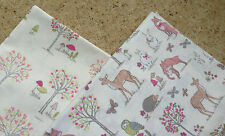 WOODLAND ANIMALS / FOREST CREAM Chatham Glyn PATCHWORK BUNDLE - 100% COTTON