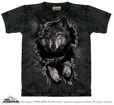 BREAKTHROUGH WOLF ADULT T-SHIRT THE MOUNTAIN